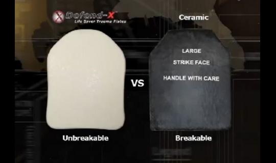 Ceramic Hard Armor Plates vs. Defend-X