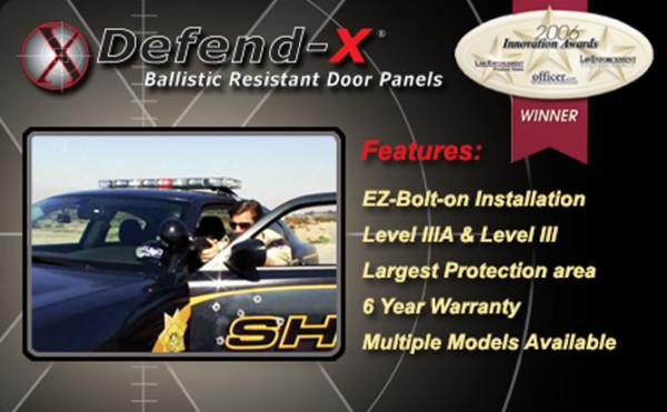 Ballistic Resistant Door Panels